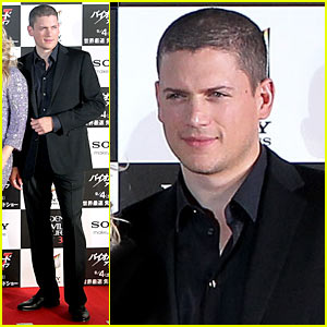 Wentworth Miller Premieres 'Resident Evil' In Japan
