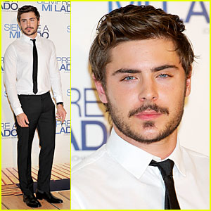 Zac Efron: 'Charlie St. Cloud' Madrid Premiere!
