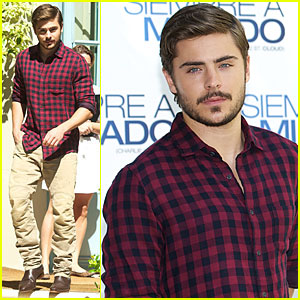 Zac Efron: Charlie St. Cloud Photocall in Madrid!