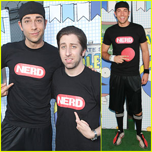 Zachary Levi: Celeb Charity Ping-Pong Tournament!