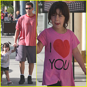 Adam Sandler: Shopping with Sunny and Sadie!