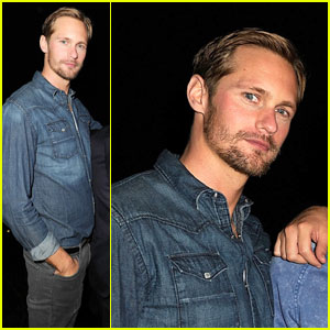 Alexander Skarsgard: Esquire House LA With Kate Bosworth!