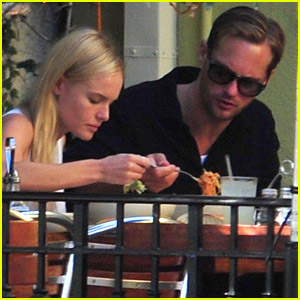 Alexander Skarsgard & Kate Bosworth Munch On Lunch