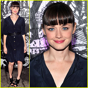 Alexis Bledel: Bangin' at Bronx Benefit