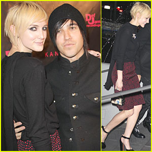 Ashlee Simpson & Pete Wentz Check Out Kanye West's 'Runaway'