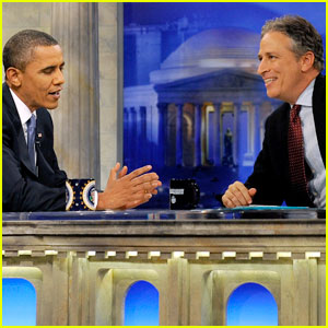 Barack Obama to Jon Stewart: I Love Your Show ... But!