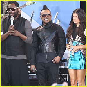 'The Time': Black Eyed Peas' Newest Single!