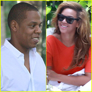 Beyonce: Lunch in Miami with Jay-Z!