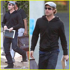 Brad Pitt Scores An Oakland A