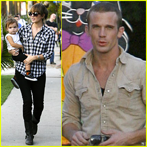 Cam Gigandet Visits A Pumpkin Patch