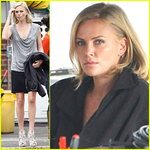 Charlize Theron Gets to Work on 'Young Adult'