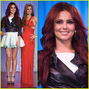 Cheryl Cole's Wax Figure Revealed!