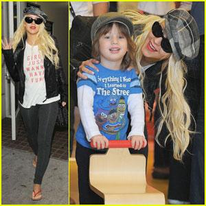 Christina Aguilera: Girls Just Wanna Have Fun!