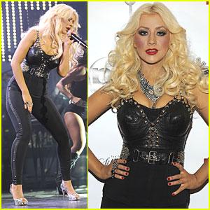 Christina Aguilera: 'Justin Timberlake & Friends' Concert!