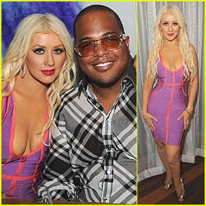 Christina Aguilera: VIP Dinner with Tricky Stewart!