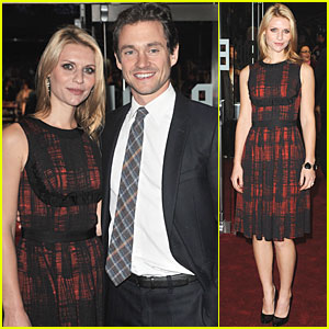 Claire Danes & Hugh Dancy: 'King's Speech' Screening!