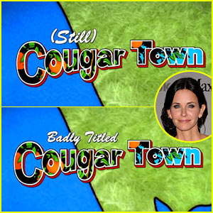 'Cougar Town' Mocks Its Own Title During Show