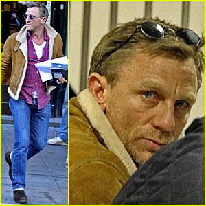 Daniel Craig: Apple Store in Stockholm!