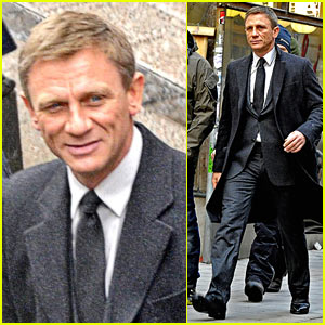 Daniel Craig: 'The Girl with the Dragon Tattoo' Stockholm Shoot!