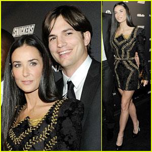 Demi Moore & Ashton Kutcher: GQ Gentlemen's Ball Couple!