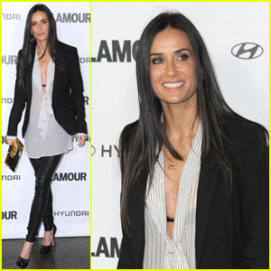 Demi Moore: 'Great Work' at Glamour Reel Moments!