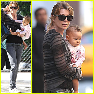 Ellen Pompeo: Soho with Stella!