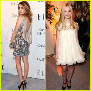 Emma Roberts & Elle Fanning: Young Women in Hollywood!