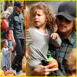 Gabriel Aubry: Pumpkin Patch Papa with Nahla