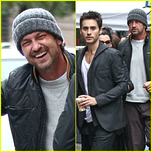 Gerard Butler: Laughing with Leto!
