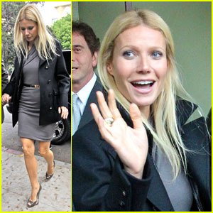 Gwyneth Paltrow Checks Out Il Cielo