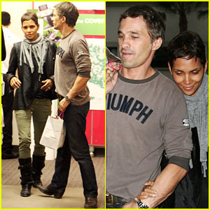 Halle Berry & Olivier Martinez: T-Mobile Twosome