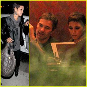 Halle Berry & Olivier Martinez: Xandros Dinner Date