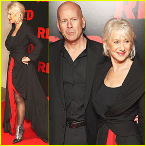 Helen Mirren: 'Red' Premiere with Bruce Willis!