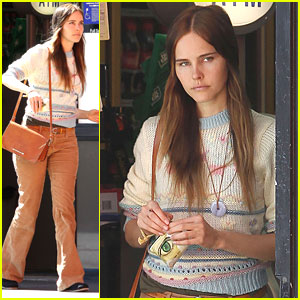 Isabel Lucas: Gas Station ATM Stop!