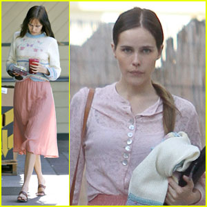 Isabel Lucas: Hair Salon Stop