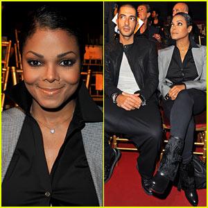 Janet Jackson & Wissam Al Mana: Parisian Pair