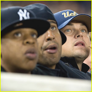 Leonardo DiCaprio: Yankees Game with Jay-Z!