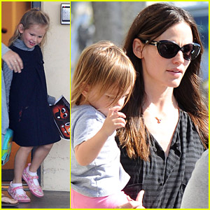 Jennifer Garner Is A Mighty Mom