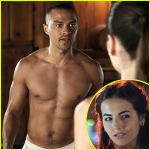 Jesse Williams & Camilla Belle Get Down and 'Dirty'