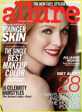 Julianne Moore Covers 'Allure' November 2010