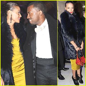 Kanye West: Masquerade Ball with Selita Ebanks!