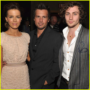 Kate Beckinsale: 'Nowhere Boy' with Aaron Johnson!