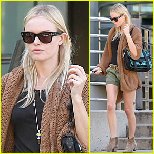 Kate Bosworth Makes It A Mochilla Morning