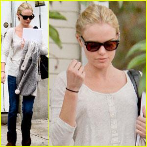 Kate Bosworth: Script Reading With Rachel Bilson!