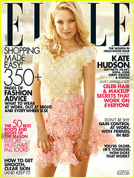 Kate Hudson Covers ELLE November 2010