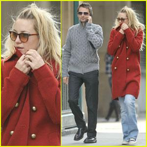Kate Hudson: NYC Stroll with Matt Bellamy