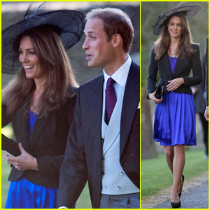 Kate Middleton: Friend's Wedding with Prince William