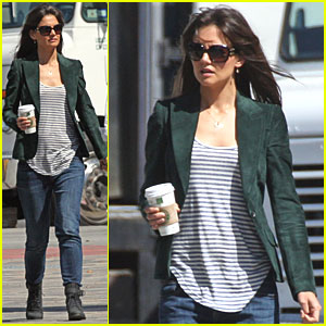 Katie Holmes Gets to Work on 'Jack and Jill'!