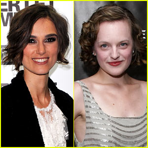Keira Knightley & Elisabeth Moss: 'Children's Hour' in London!