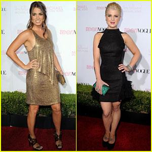 Nikki Reed & Kelly Osbourne: Teen Vogue Party!